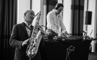 Duo Saxo et DJ