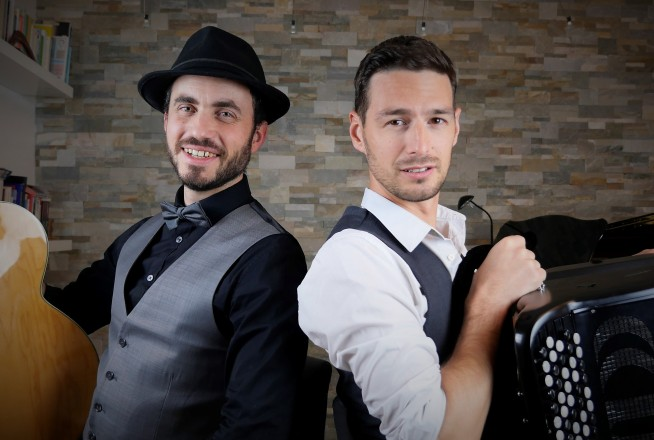Duo accordéoniste et guitariste
